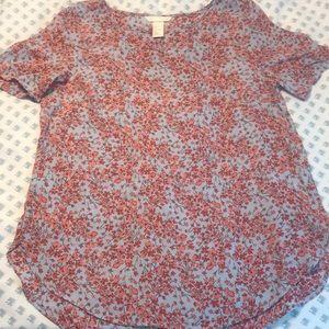 H&M short sleeved blouse